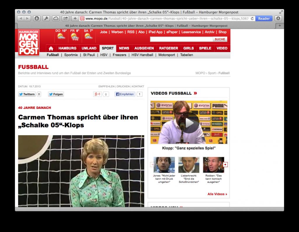 Hamburger Morgenpost Schalke
