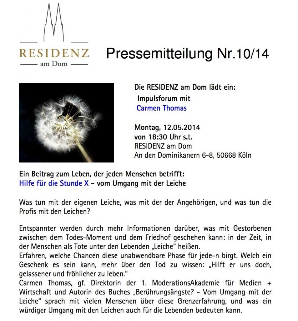 Pressemitteilung_Carmen_Thomas_Vortrag_Hilfe_fuer_die_Stunde_X