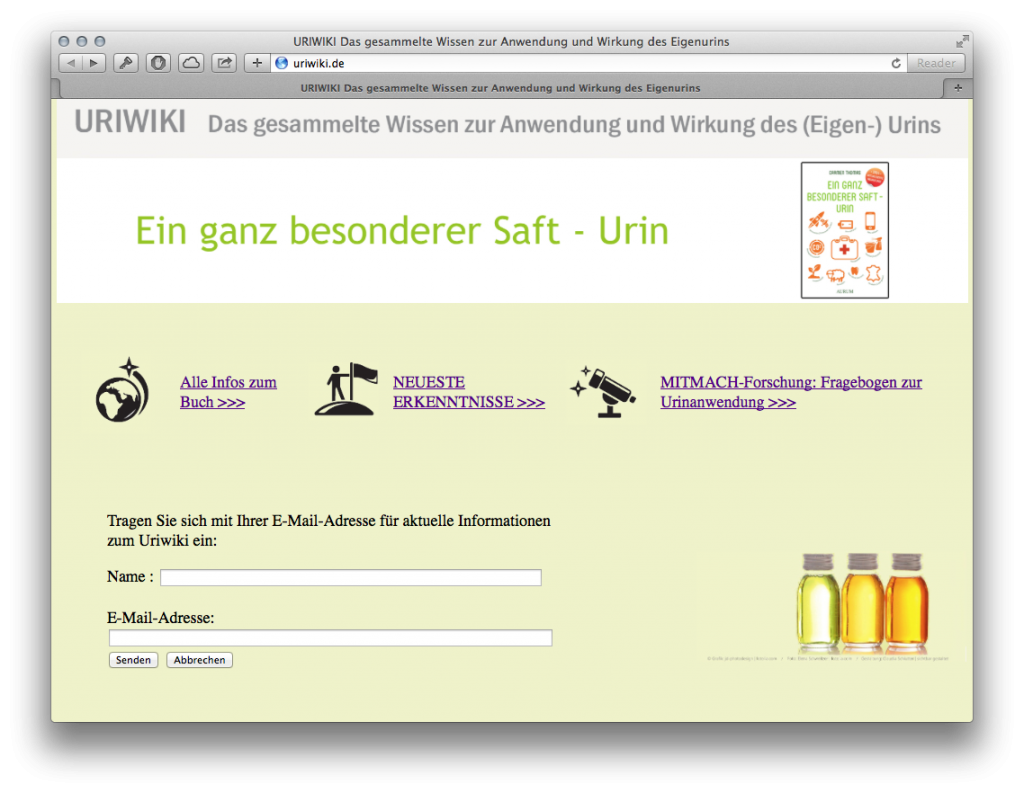 Uriwiki Screenshot