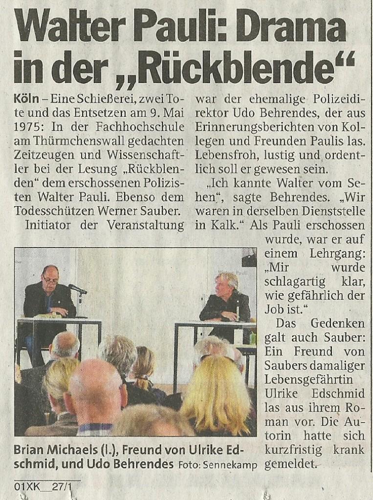 Art Kölner Express 24.05.15
