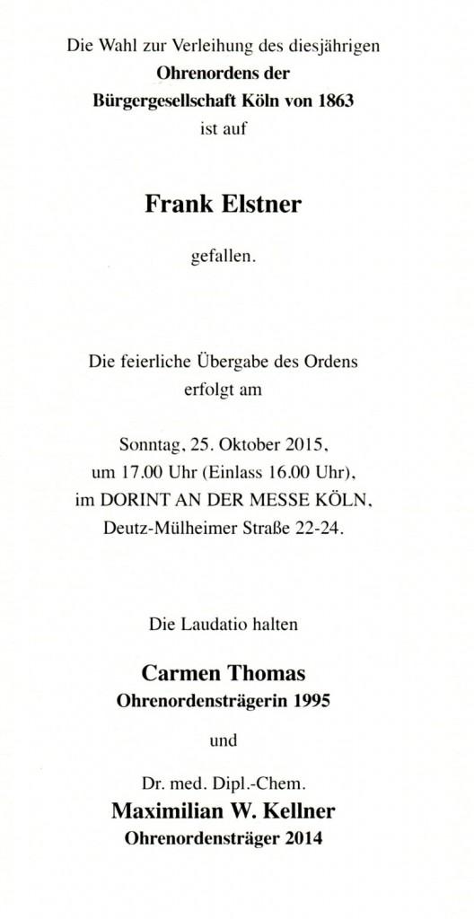 Ohren-Orden Verleihung 2015