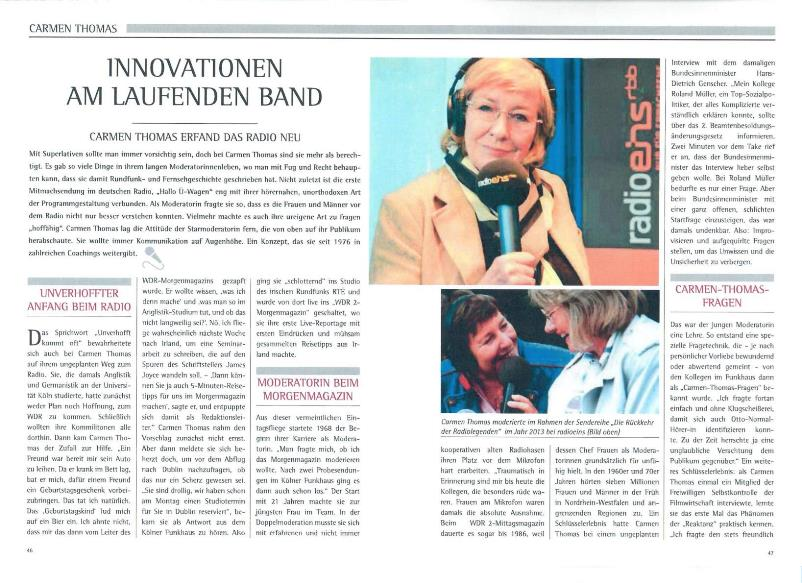 Art Innovationen am laufenden Band - Radio Gong 96.3